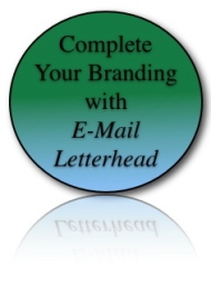 Complete Your Branding with E-mail Letterhead
